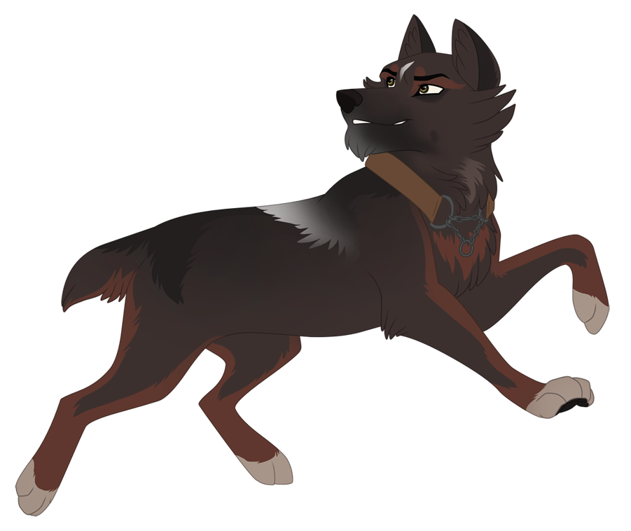Commission - Hathound by Sylean