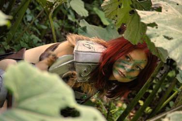 Aela the Huntress Cosplay VIII