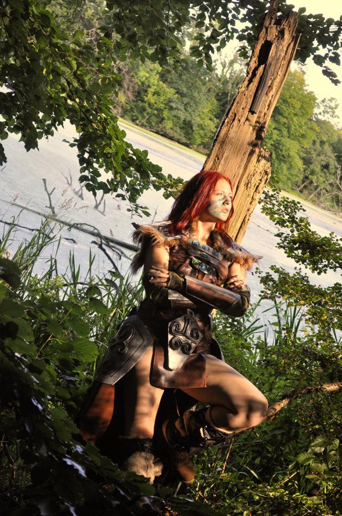 Aela the Huntress Cosplay IX by Vermiljona