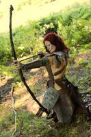 Aela the Huntress cosplay XI by Vermiljona