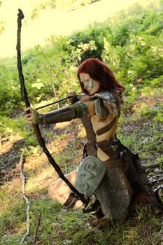 Aela the Huntress cosplay XI