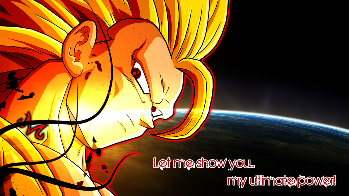 Majin Super Saiyan 3 Goku Wallpaper By Friezy