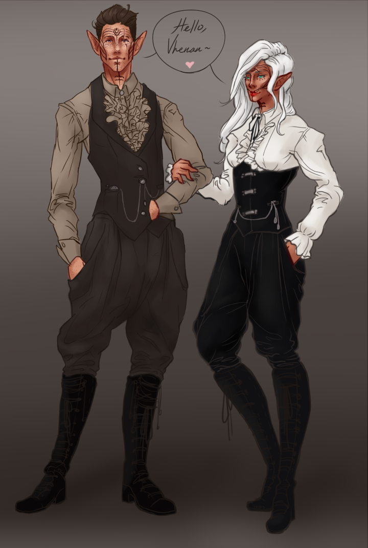 Fancy Outfits by The-Knights-Stars