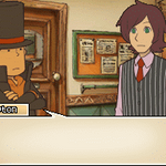 Layton meets Ian by Luphin