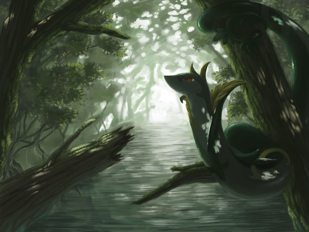 Serperior by Luphin