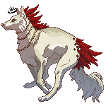 Pixels for Auric-Fox by Luphin