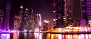 Dubai Marina Walk by kiranQureshi