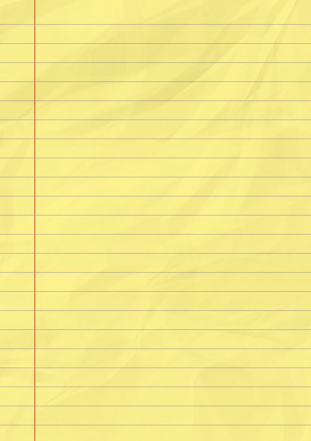 yellow lined paper by Andie200 on DeviantArt – Yellow Notebook Paper Background