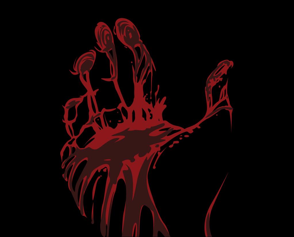 Love Blood Hand Wallpaper : Blood hand by Andie200 on DeviantArt