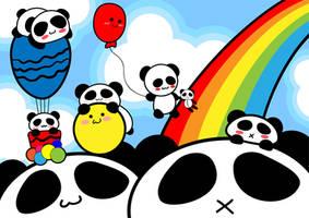 Panda Land by yurike11