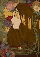 The Earthy Girl by yurike11
