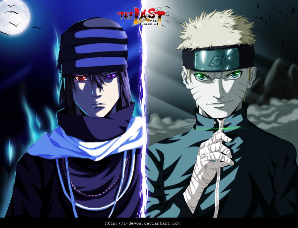 Naruto and Sasuke - The Last Movie by I-DEVOS on DeviantArt