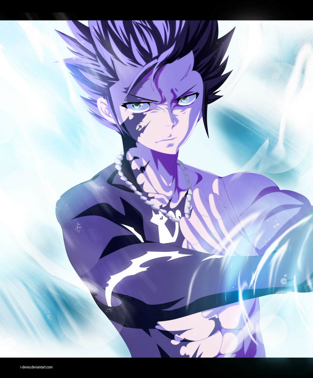Fairy Tail 446 - Gray Fullbuster in action  ! !