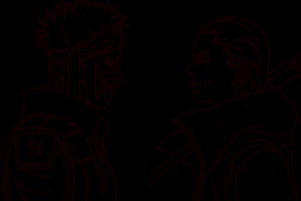 Naruto Hidan Vs Zabuza |Lineart| by I-DEVOS on DeviantArt Zabuza Vs Hidan