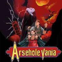 Arseholevania Podcast Cover - commission