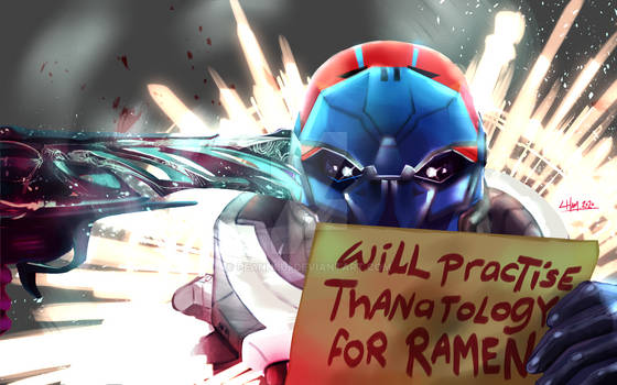 thanatology for ramen - commission