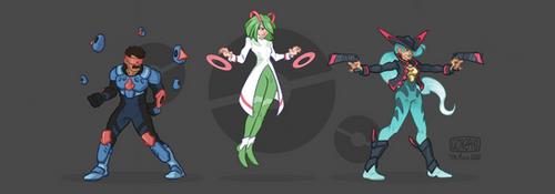 Pokemon (Superhero Design)