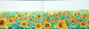 Sunflowers by Sallock