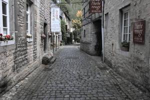Durbuy smallest city street