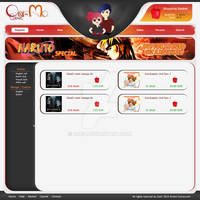 Anime - manga shop website