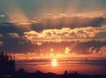 god rays by JCapela