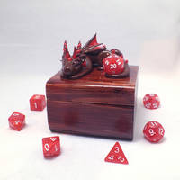 Red Dice Dragon Box Set by KaijuClayCreations