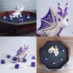 Custom Dragon Dice Tray Set