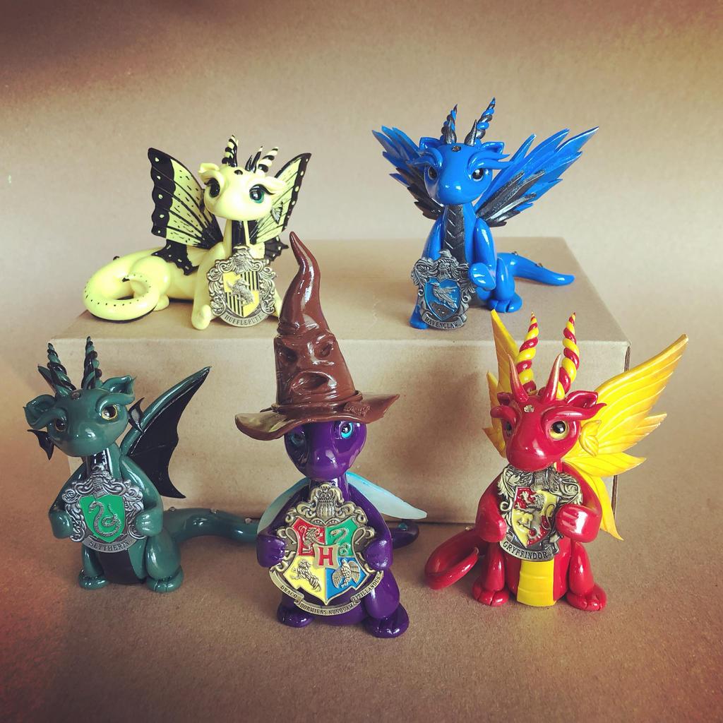 Hogwarts House Dragons