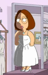 Meg Griffin shading Wedding 1 by delmardavis