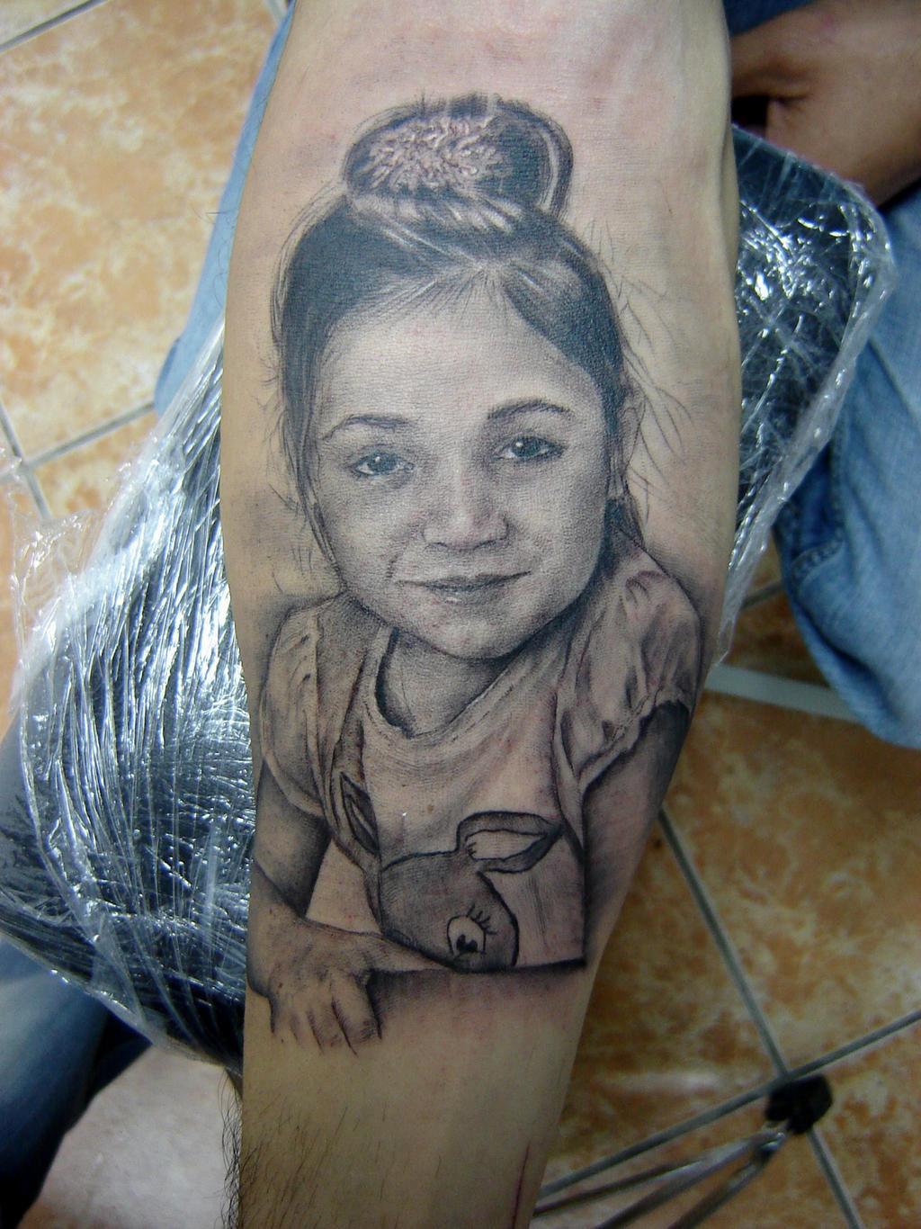 Portret tattoo by slakitattoo on deviantart for Tattoo shops terre haute indiana