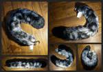Snow Leopard Yarn Tail