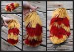 Supiciously Gryffindor Yarn Tail