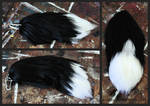 Black Fox Yarn Tail