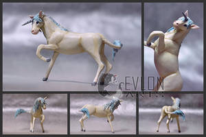 Winter Unicorn Sculpture