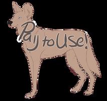 P2U: Painted Dog Base