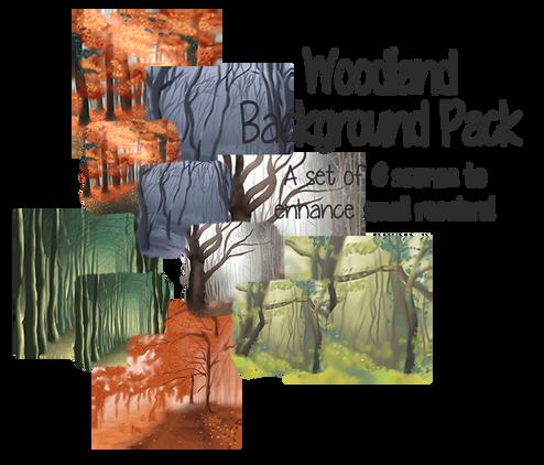 P2U: Woodland Background Pack