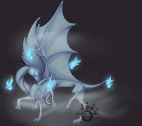 Ice Wraith by EvlonArts