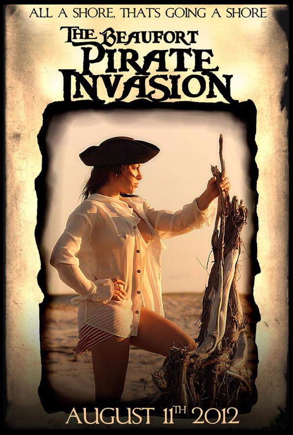 Pirate Invasion 2012 Poster by RadActPhoto