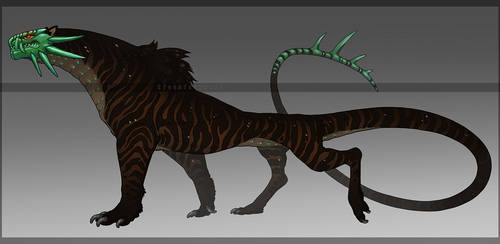 Jade Tiger - [CLOSED] by TornTethers
