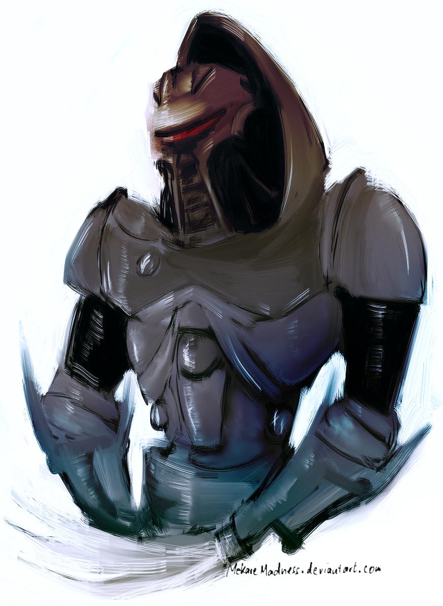 Cylon Centurion by MekareMadness