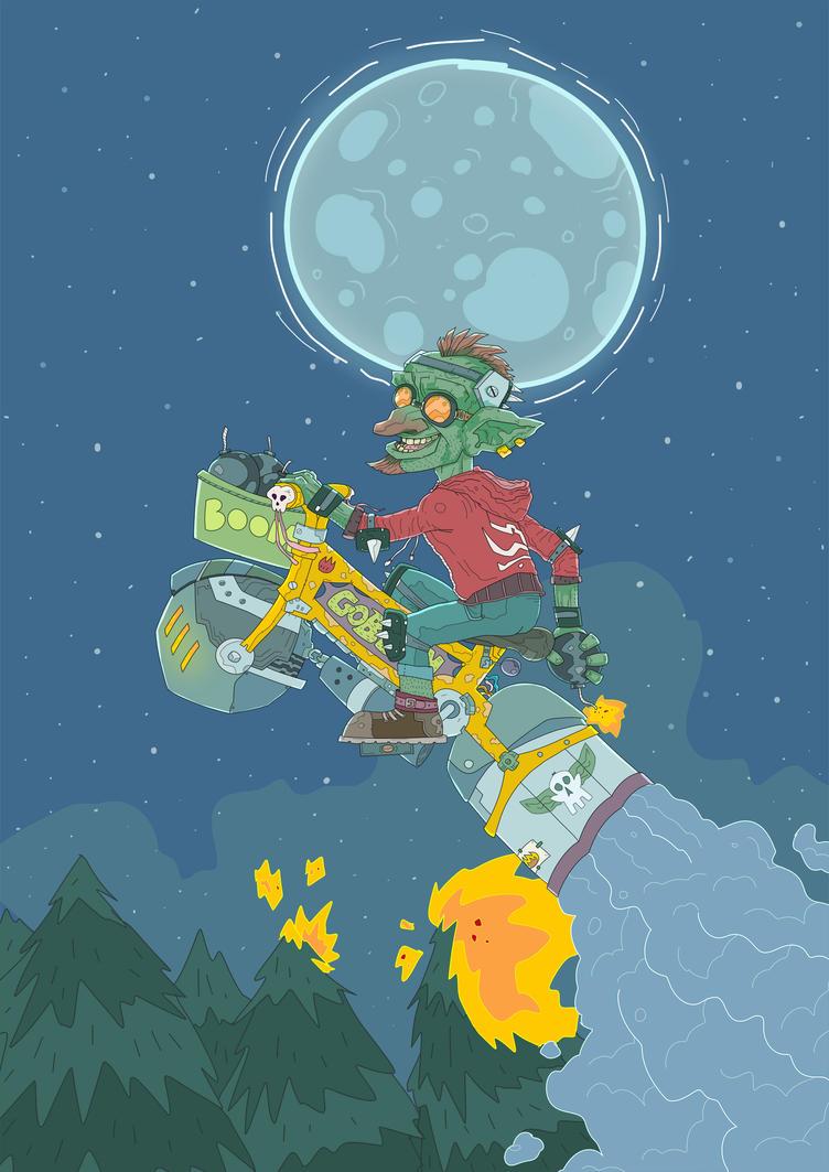 Elliott the goblin by MekareMadness