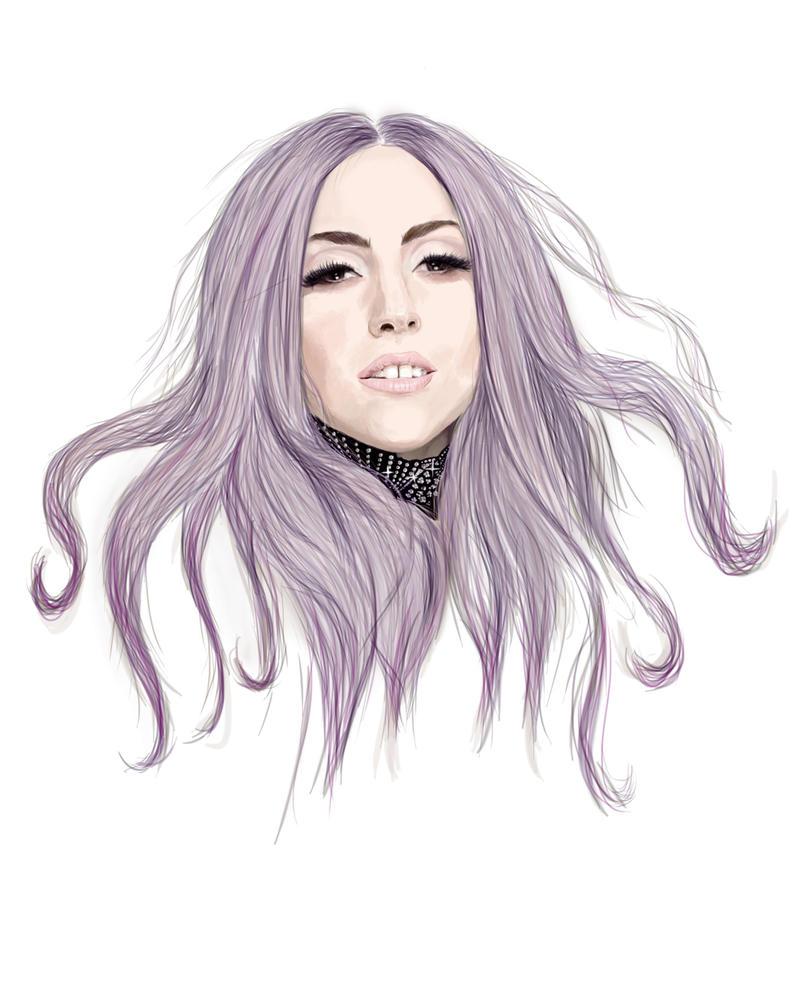 gaga purple by arinako