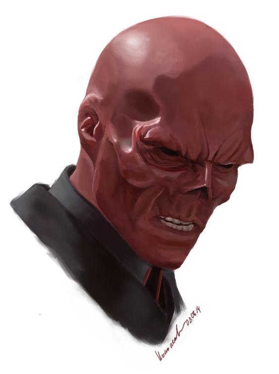 Red Skull by arinako