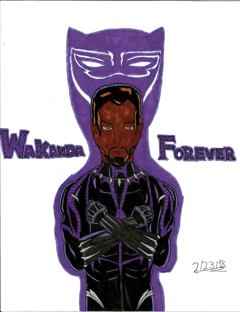 Wakanda forever by darkwarrior universe