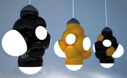Molecular Lampe by FXdezigner