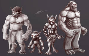Goblinoids Early Concepts