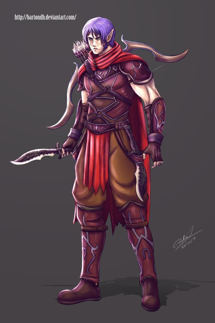 Barton Concept ( Original Character ) by BartonDH