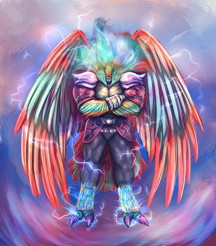 Garuda's True Form Concept ( Original Character ) by BartonDH