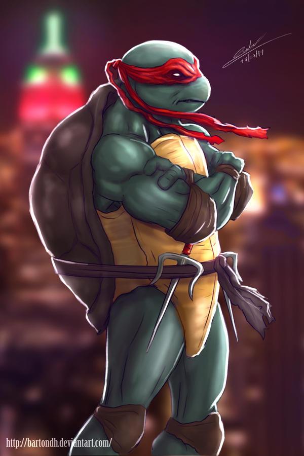 Raphael TMNT by BartonDH
