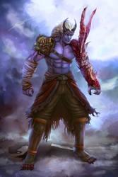 Elder Oni Brother Concept ( Original Character )